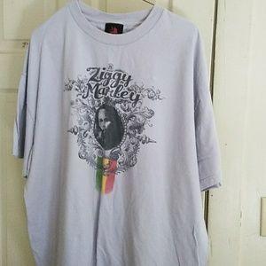 Grey Ziggy Marley t shirt